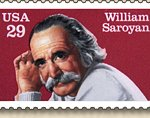 40x28 Saroyan Stamp Poster
